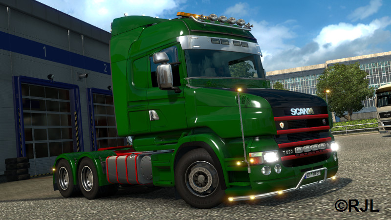 Scania T Mod v1.7 ( versión 1.21) Screenshot2